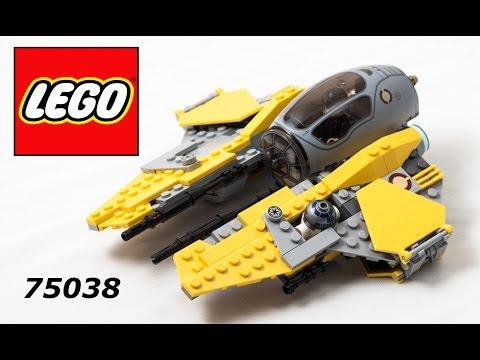Vidéo LEGO Star Wars 75038 : Jedi Interceptor