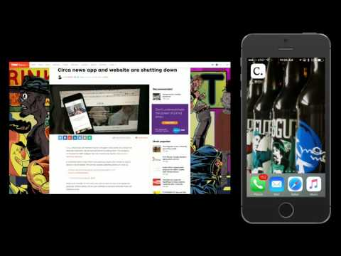 iOS App Review – Circa News App