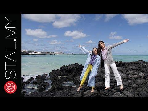 #SERONOKNYAJEJU Kembara Stailish Shalma & Adriana Ke Pulau Jeju