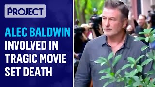 Alec Baldwin Allegedly Kills Crew Member With Prop Gun On Movie Set In Freak Accident   The Project