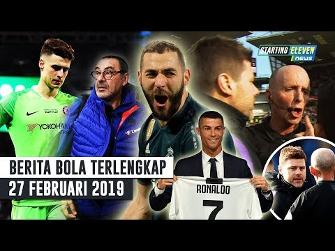 Kepa Kena DENDA 💰 Benzema SENANG Ronaldo Minggat 😎 Kelakuan Pochettino Berujung NGERI -Berita Bola