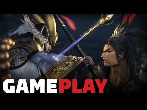 Gameplay de Warriors Orochi 4