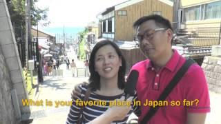 Travelers' Voice of Kyoto: KIYOMIZU DERA Area Interview003