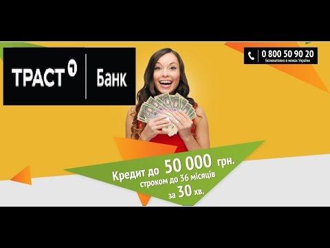 Кредит в трасте онлайн заявка украина возьму кредит днепр