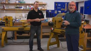 Powermatic Lathes 3520B and 4224B - Overview