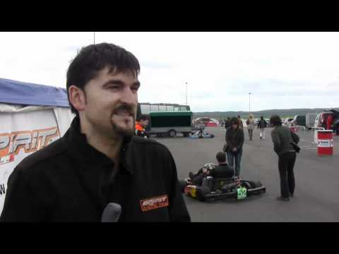 Karting. Mikel Nazabal (01/05/11)