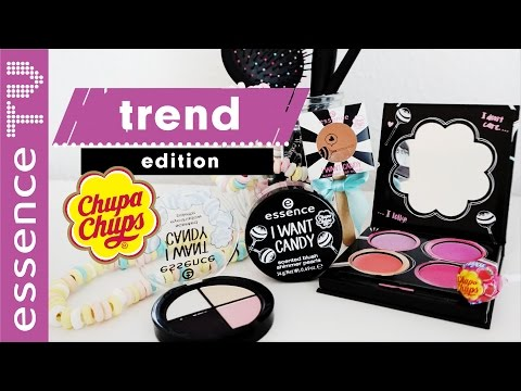 essence trend edition i want candy 🍭 - drogerie neuheiten,produkte,swatches l essenceTV