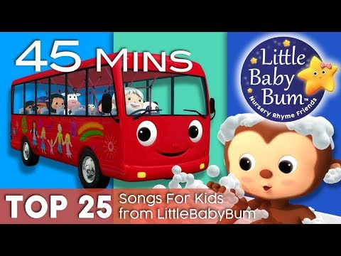 """Wheels On The Bus"" + ""Bath Song"" + ""Ten Little Buses"" + More 