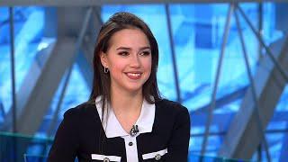"""Сенсационное интервью Алины Загитовой для программы """"Время"""". Полная версия."""