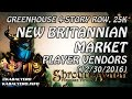 Shroud Of The Avatar 💰 Greenhouse 4-Story Row @ 25k, New Britannian Market Player Vendors (12/30)