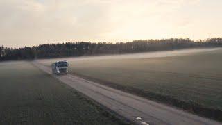 3 inch quad flying smooth cinematic FPV through fog