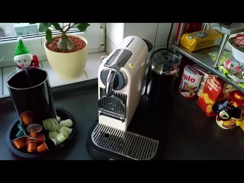 Vorstellung DeLonghi EN 266.CWAE Nespresso Citiz Kapselmaschine deutsch