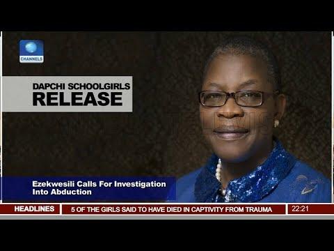 Obi Ezekwesili Calls For Investigation Into Abduction Pt.2 |News@10| 21/03/18