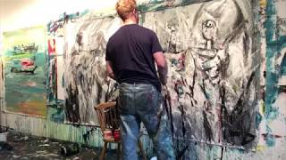 How To Paint Figurative Abstract Art - Patrick John Mills