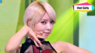 AOA - Like a Cat, 에이오에이 - 사뿐사뿐, Show Champion 20141119