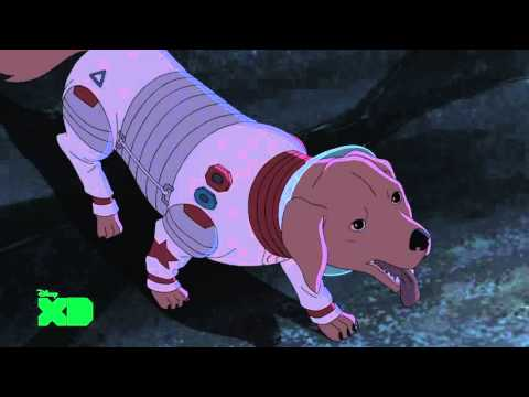 Guardians Of The Galaxy - Cosmo The Security Dog | Official Disney XD Africa