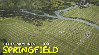City Layout | Cities Skylines: Springfield 03