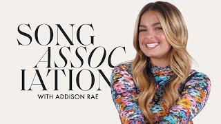 Addison Rae, Song of Song Association Oyununda Justin Bieber, Hailee Steinfeld ve