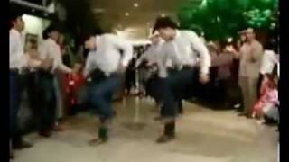 Country Dance Clip - COWBOYS DANCE COUNTRY SHOW.avi