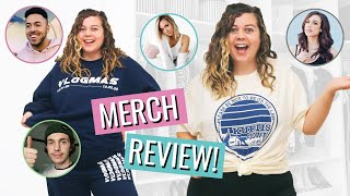Buying & Reviewing Merch From Youtubers I Actually Watch