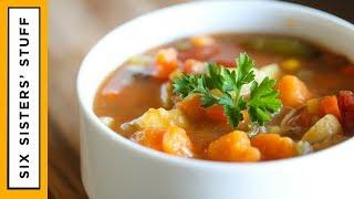 Detox Slow Cooker Loaded Vegetable Soup