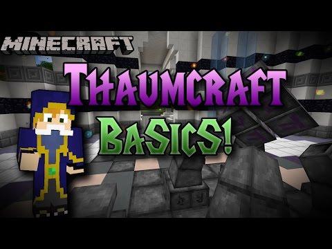 Minecraft | Thaumcraft Basics | Magic, Weapons and more! Mod Spotlight