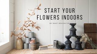 Start Your Flowers Indoors
