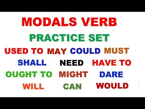 mp4 Exercise Modal Auxiliary, download Exercise Modal Auxiliary video klip Exercise Modal Auxiliary