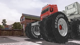 Renault Kid - Monster Truck Mod - BigFoot Truck Model - Ets 2 - Eurotruck Simulator