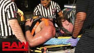 Strowman and Lashley are taken to a medical facility: Raw, July 1, 2019