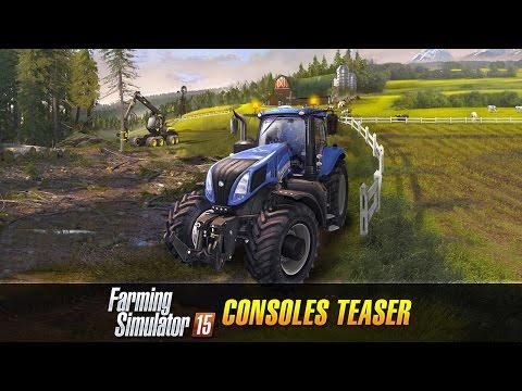 První video na konzolový Farming Simulator 15