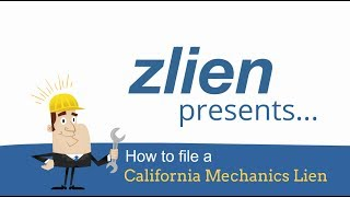 Attorney's Advice On Filing A California Mechanics Lien