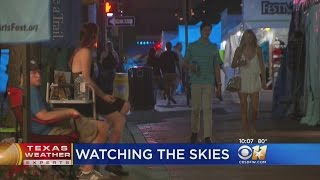 Crowds Brave Severe Weather For Main Street Arts Festival