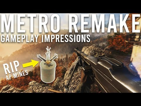 Metro Remake gameplay Impressions Battlefield 5
