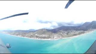 360 video: UK aid experts arrive in Dominica after Hurricane Maria
