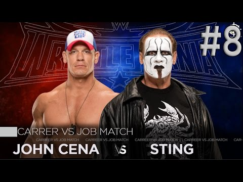 Download John Cena vs Sting | Wrestlemania 32 HD Mp4 3GP Video and MP3