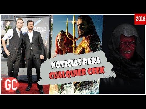 La Critica Se Rinde Ante Aquaman, Hugh Jackman Tiene Un Anuncio Exclusivo, ¿Red Skull En Avengers 4?
