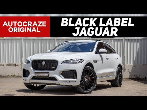 🐆 BLACK LABEL JAGUAR 🐆 | Jaguar F-Pace Wheels & Tyres | AutoCraze 2017
