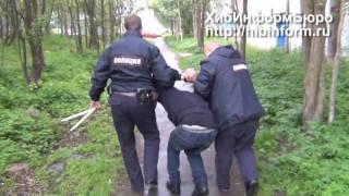 Нападение на полицейских в Апатитах