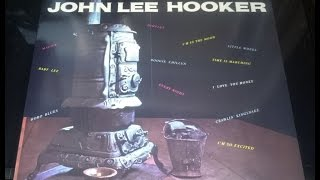 """LITTLE WHEEL""  JOHN LEE HOOKER  VEE JAY LP 1007 P.1959 USA"