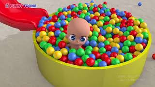 Учим цвета с малышом и шариками! Грузовик! Шарики! Learn colors with Baby and Balls [перевод]