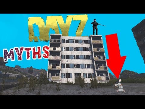 DAYZ MYTHS! How Far Can You Fall Without Dying + Where Is Climbing?