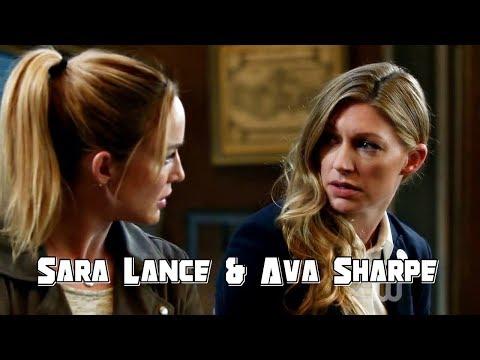 Sara Lance & Ava Sharpe #1