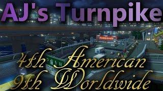 【MK8】 (N64) Toad's Turnpike: 1:40.027: 9th WW & 4th AM