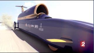 La voiture fusée la plus rapide au monde - 1600 Km/h