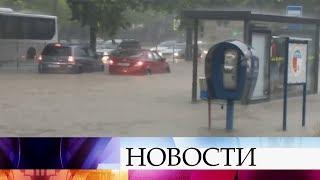 На Крым надвигается новый шторм.