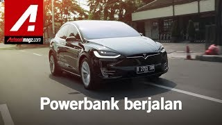 Tesla Model X Review & Test Drive Indonesia