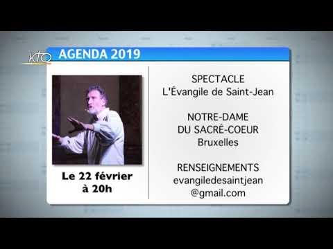 Agenda du 15 février 2019
