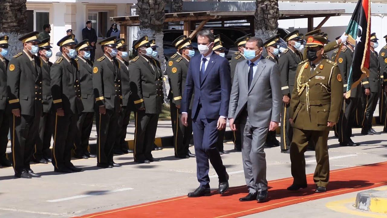 Συνάντηση των πρωθυπουργών  Ελλάδας Λιβύης στην Τρίπολη