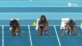 Liévin 2018 : Finale 60 m F (Carolle Zahi en 7''17)